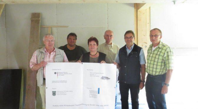 CDU-Ratsfraktion besichtigte Hort- u. Krippenbau in Schladen