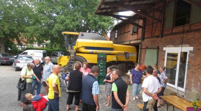 CDU-Radtour führte durchs Ortsgebiet von Schladen