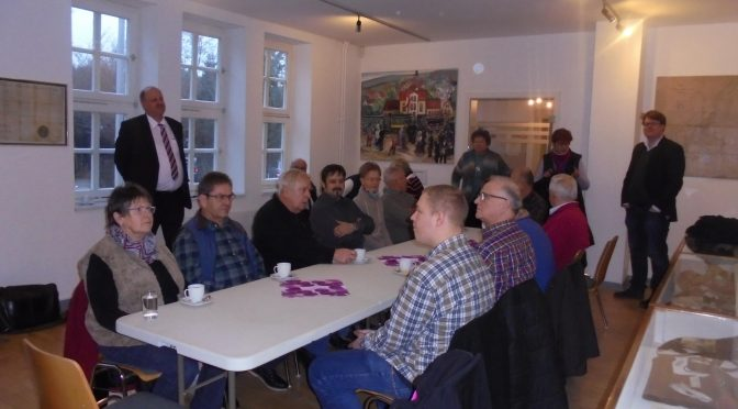 """CDU besuchte die Ausstellung """"Hornburg und seine jüdische Gemeinde"""" im  Heimatmuseum in Hornburg"""