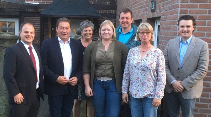 CDU Ortsverband Werlaburgdorf: Ein Tausch an der Führungsspitze