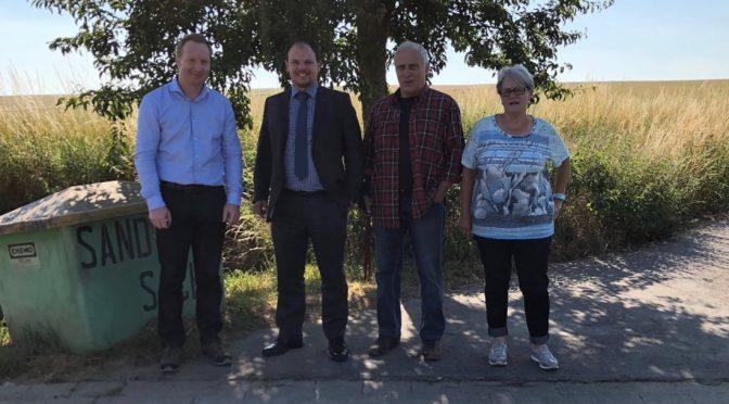 Werlaburgdorf rüstet auf: Neuer Überschwemmungsschutz am Harzblick