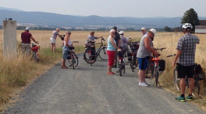 CDU-Schladen mit dem Fahrrad unterwegs