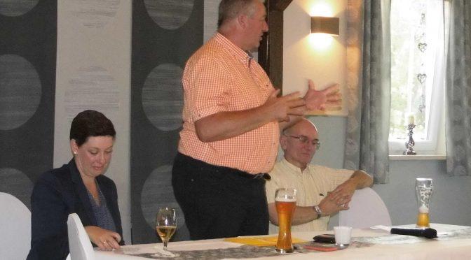 Landtagsvizepräsident Frank Oesterhelweg referierte über die direkten Auswirkungen zwischen Land und Gemeinde Schladen-Werla