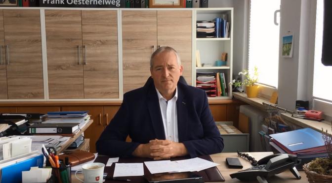 Frank Oesterhelweg MdL: Der Krise entschlossen begegnen!