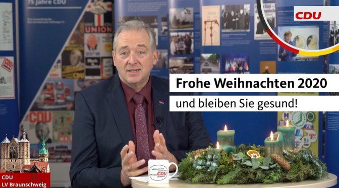 Weihnachtsgruß von Frank Oesterhelweg MdL