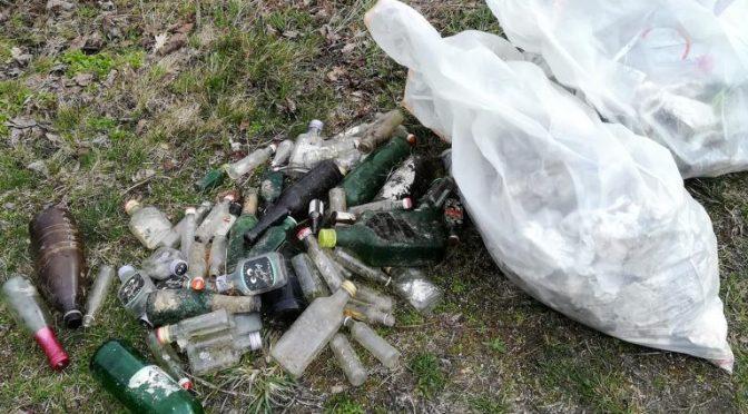 Müllsammelaktion trotz widriger Wetterverhältnisse