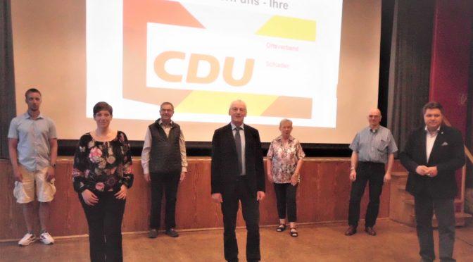 Jahreshauptversammlung der CDU Ortsverband Schladen